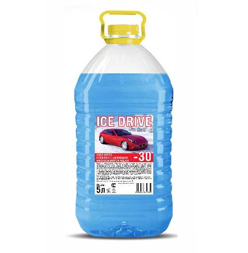 nezamerzaika ice drive - Незамерзайка 'Ice Drive' -5ºС